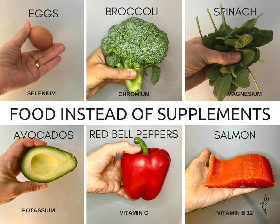 Is food better than supplements? You need to know!